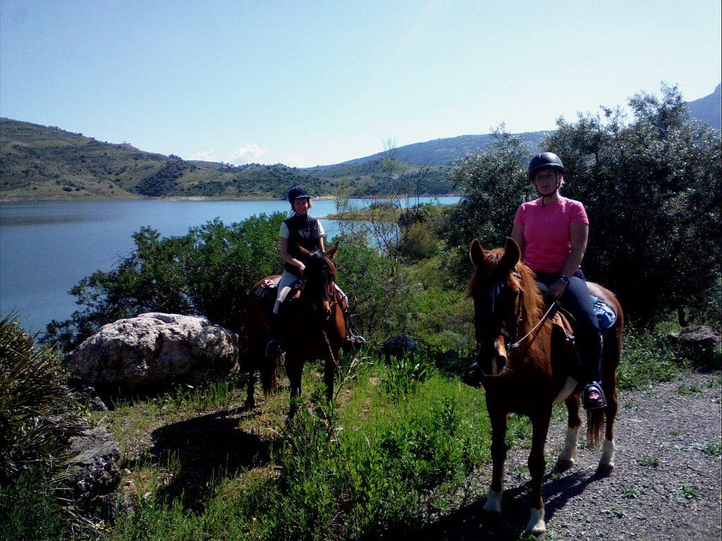wanderreiten zahara de la sierra